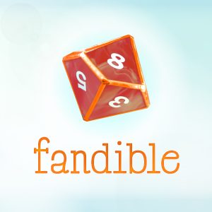Fandible Actual Play Podcast logo