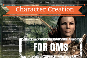 3 character creation tips