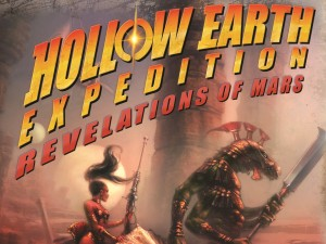 Hollow Earth Expedition Revelations of Mars logo
