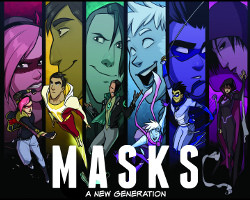 Masks: Send in the B Team 2 of 2