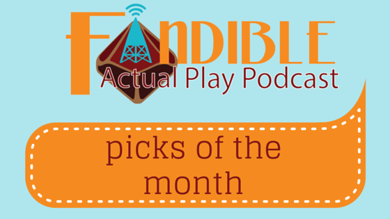 Fandible Picks of the Month December 2015