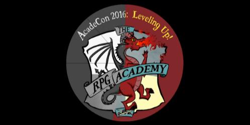 Acadecon 2016 - Leveling Up!